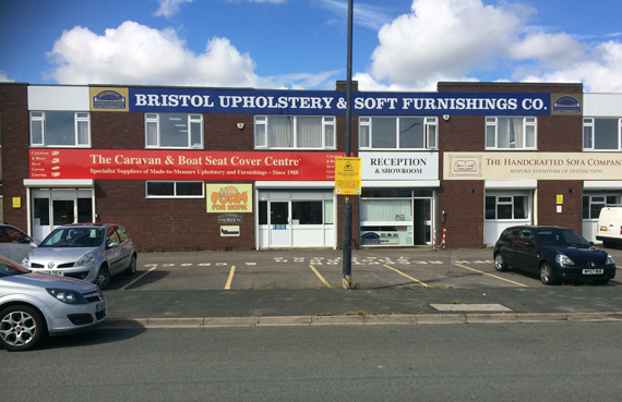 Our Bristol Upholstery Showroom