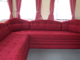 Made-to-measure static caravan curtains