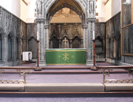St Ninion's Cathedral interior