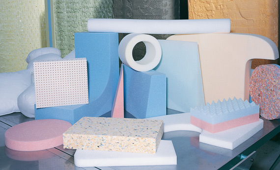 Different types of foam