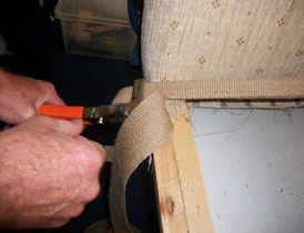 Furniture repairs by skilled craftsmen
