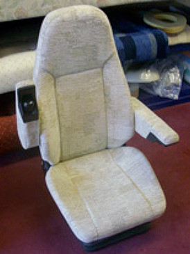 Driver / passenger cab seats and armrests no problem!