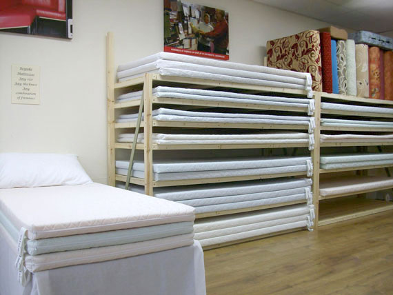 Our Mattress Menu finds your perfect mattress type