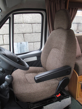 Many practical and durable cab seat fabrics