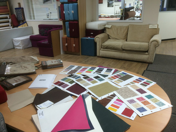 Hundreds of specialist outdoor fabrics to choose from