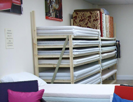 Try different vaiations of foam grade to create your perfect mattress